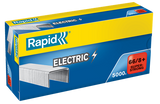 TRADE PACK - 5 Boxes Rapid 66/8+ (5x5000) Special Electric Strong Staples - 50% Discount (£5.19 per box + VAT) SAME DAY DESPATCH