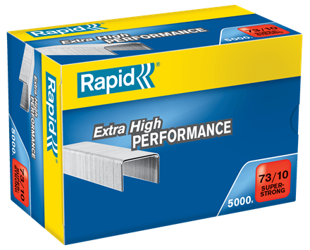TRADE PACK - 2 Boxes Rapid 73/10 (2x5000) Extra High Performance Staples - 50% Discount (£8.38 per box + VAT) SAME DAY DESPATCH