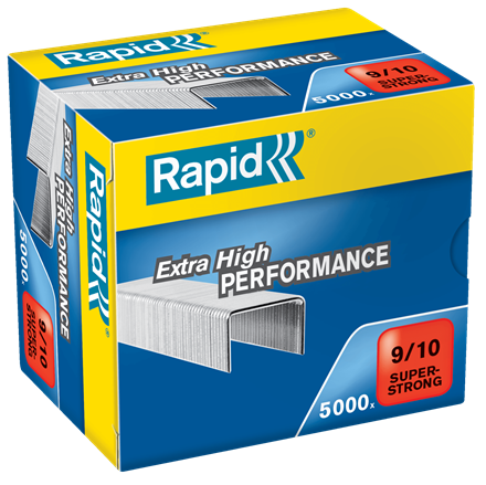 Rapid 9/10 (5000) Extra High Performance Super Strong Staples - 50% Discount - SAME DAY despatch