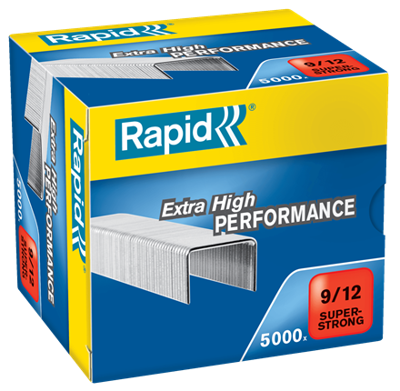 Rapid 9/12 (5000) Extra High Performance Super Strong Staples - 50% discount - SAME DAY despatch