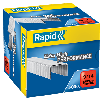 Rapid 9/14 (5000) Extra High Performance Super Strong Staples - 50% discount - SAME DAY despatch