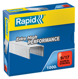 Rapid 9/17 (1000) Extra High Performance Super Strong Staples - 50% discount - SAME DAY despatch