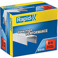 Rapid 9/8 (5000) Extra High Performance Super Strong Staples - 50% discount - SAME DAY Despatch
