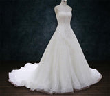 Lace A-Line Ballgown wedding dress Sweetheart Neckline