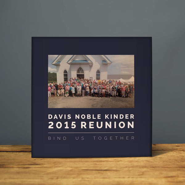 Davis Noble Kinder 2015 Reunion Book