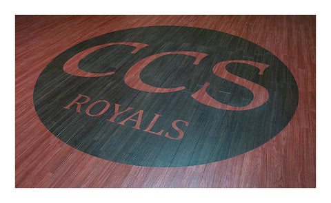 CCS Laser Etched Flooring