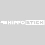"Hippostick Die Cut Sticker 17"" wide"