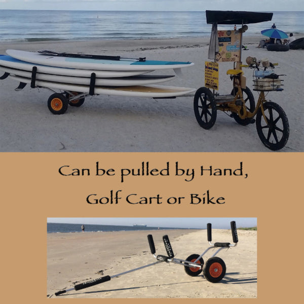 sup cart that can be pulled by bike