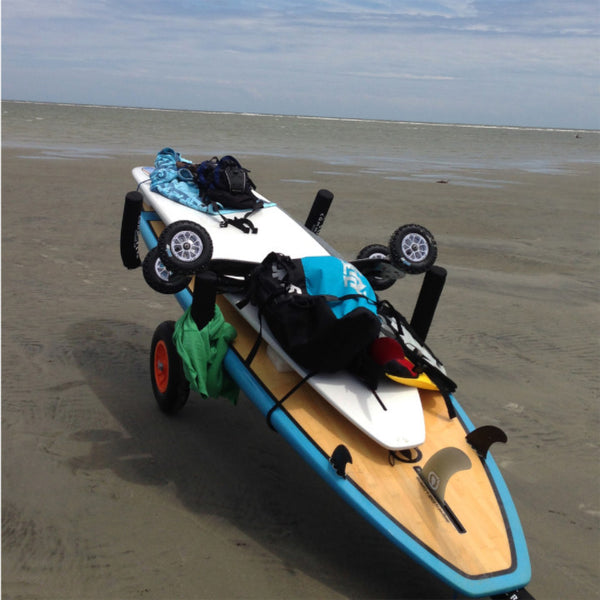 beach cart for watersports and toys