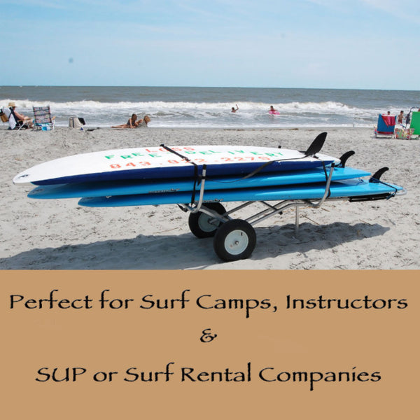 stand up paddle board trailer for multiple boards
