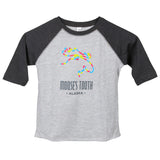 Kids Moose Baseball Tee