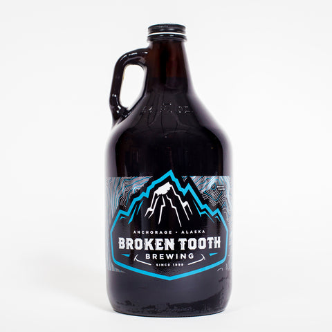 Broken Tooth Brewing Glass Growler