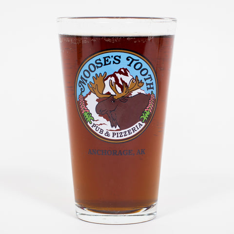 Moose's Tooth Logo Pint Glass
