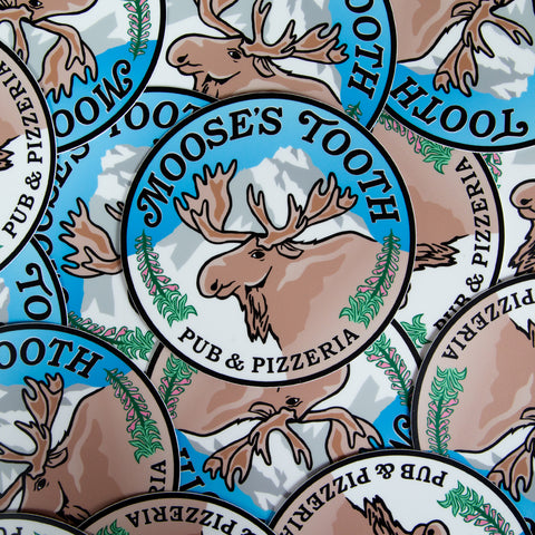 Sticker: Moose's Tooth Logo