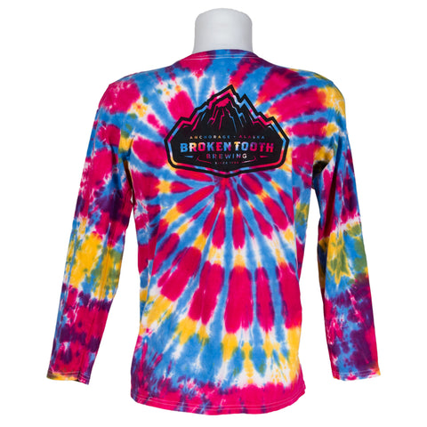 Broken Tooth Tie-Dye Long Sleeve