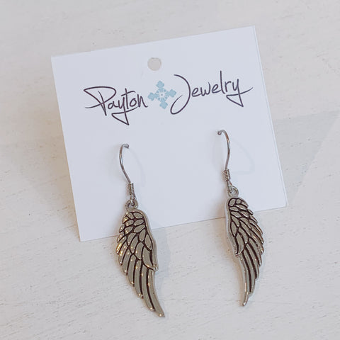 Large Angel Wings Earrings