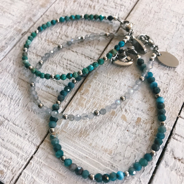 Turquoise Stacker