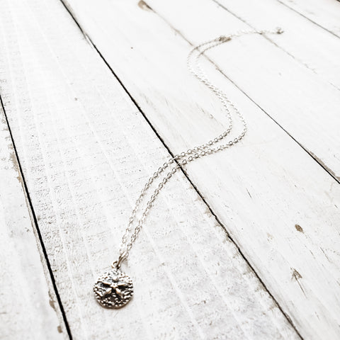 Mini Sanddollar Pendant Necklace