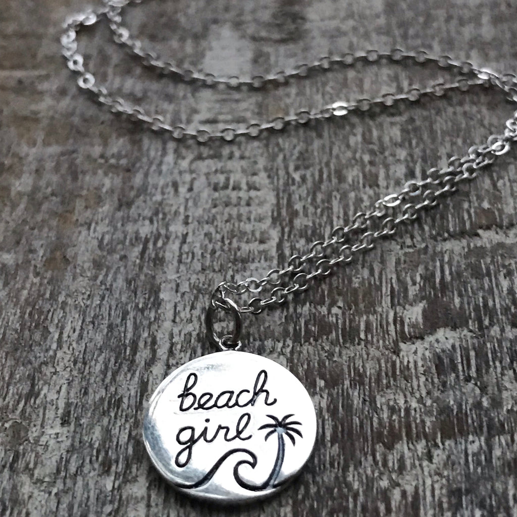 Beach Girl Coin Necklace