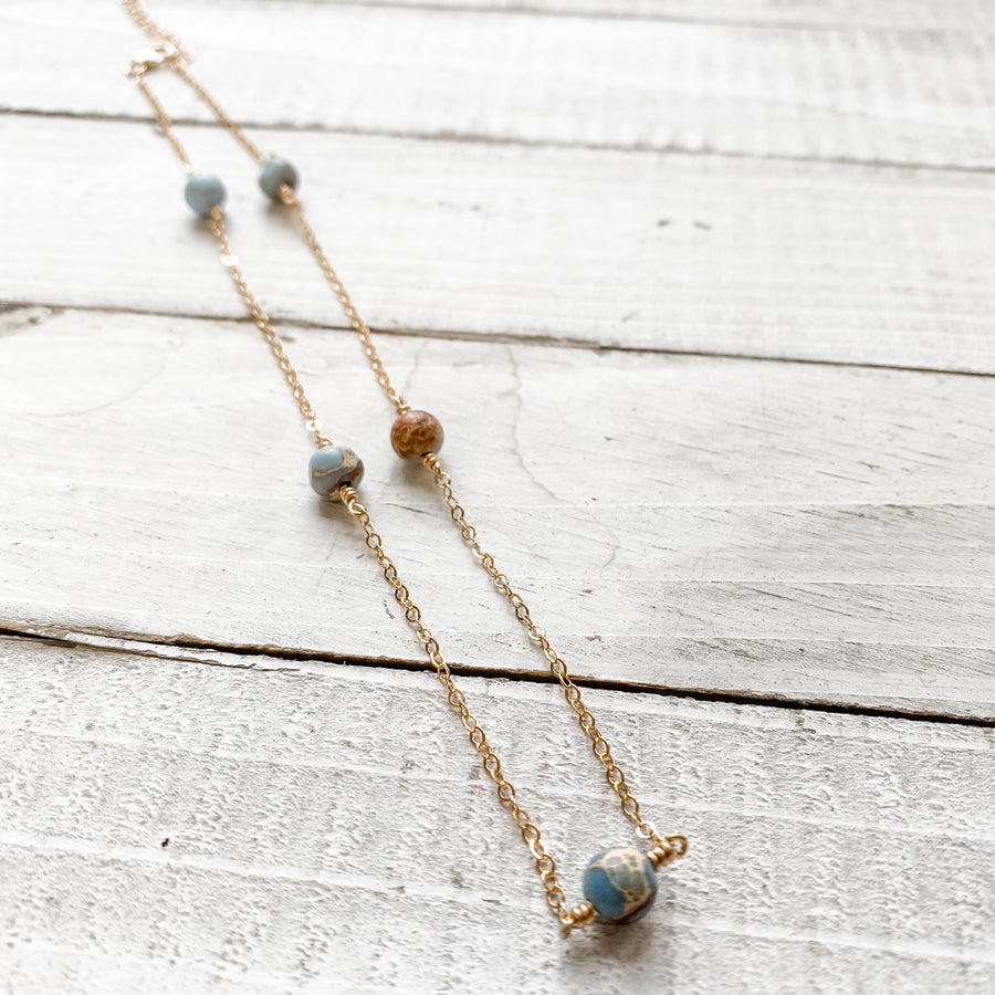 Autumn Skies Necklace