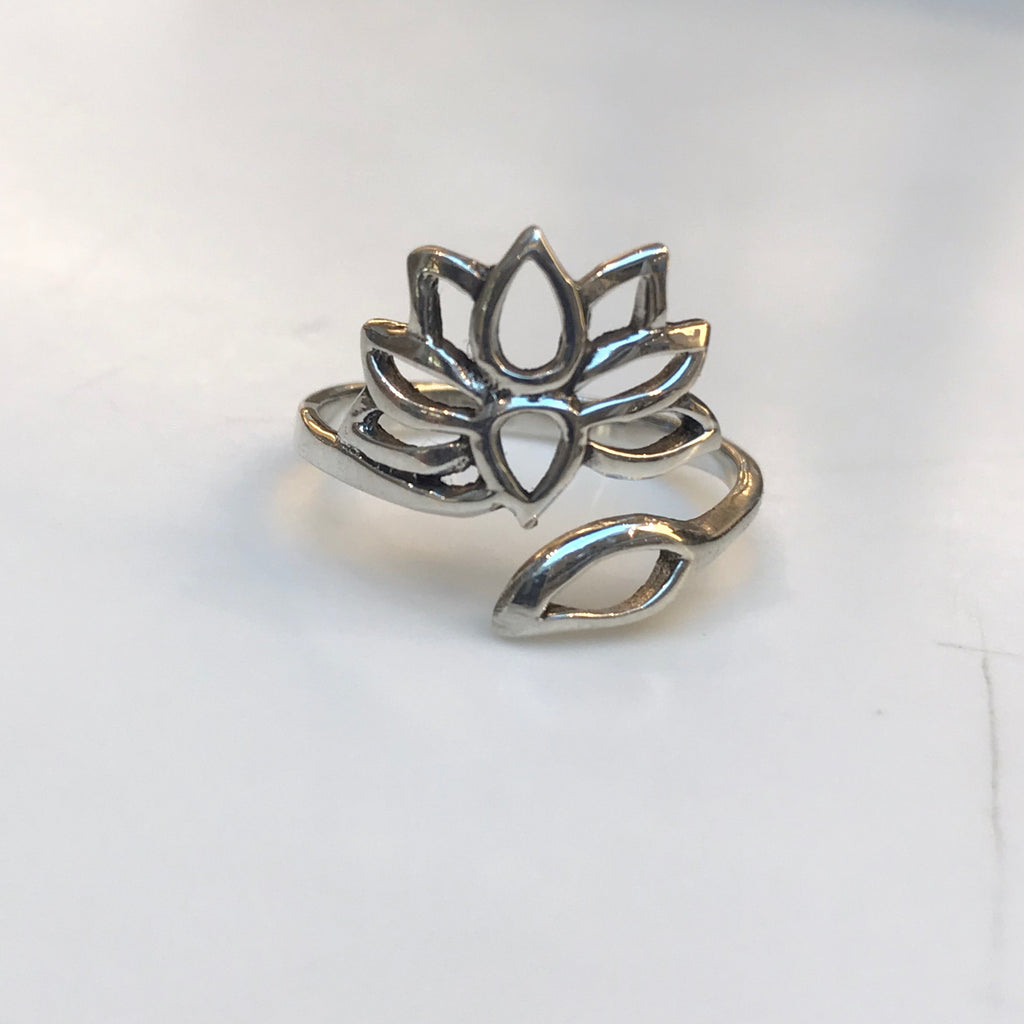 Lotus Wrap Ring