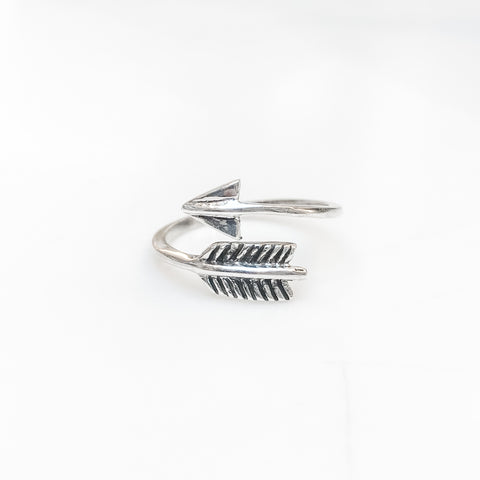 Arrow Feather Wrap Ring