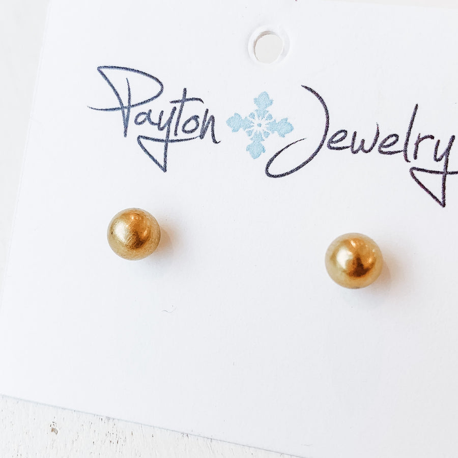 Gold Stainless Studs