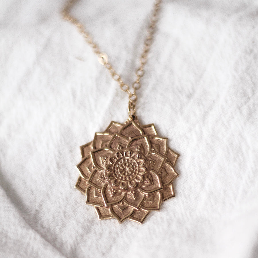 Mandala Necklace