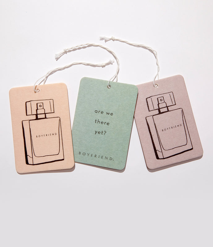 Boyfriend Car Fragrance 3-Pack by Kate Walsh