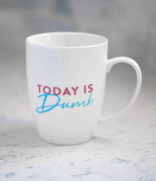 """Today Is Dumb"" Mug"