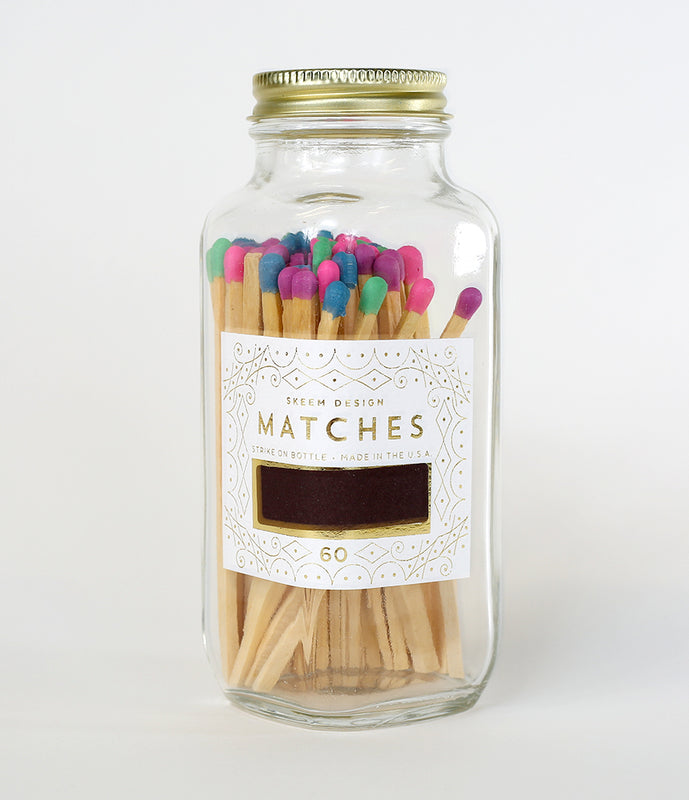 Multi Colored Party Matches