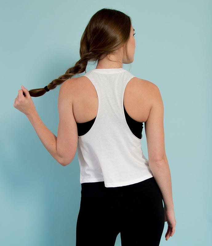 Running (Late) Cropped Tank