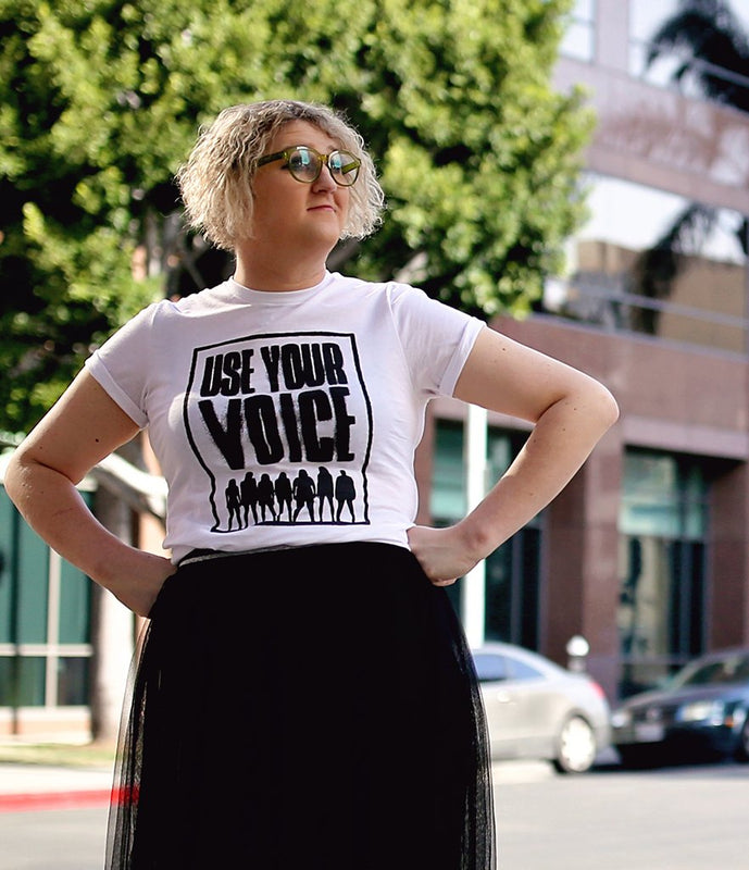 """Use Your Voice"" T-Shirt"