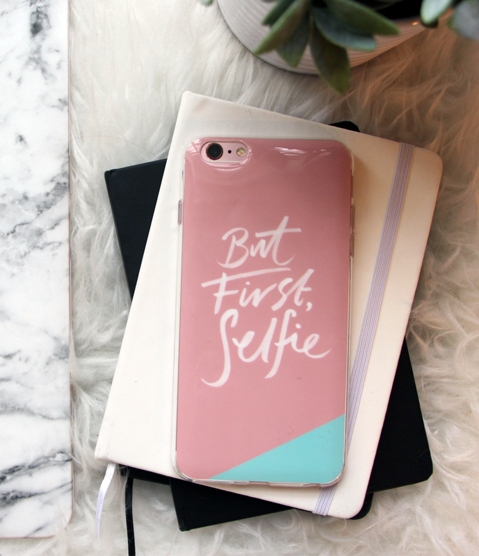 """But First, Selfie"" Phone Case"