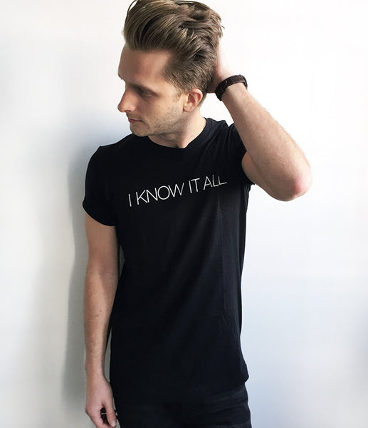 """I Know It All"" Bethenny Unisex Tee"