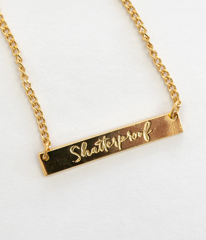 Shatterproof Necklace