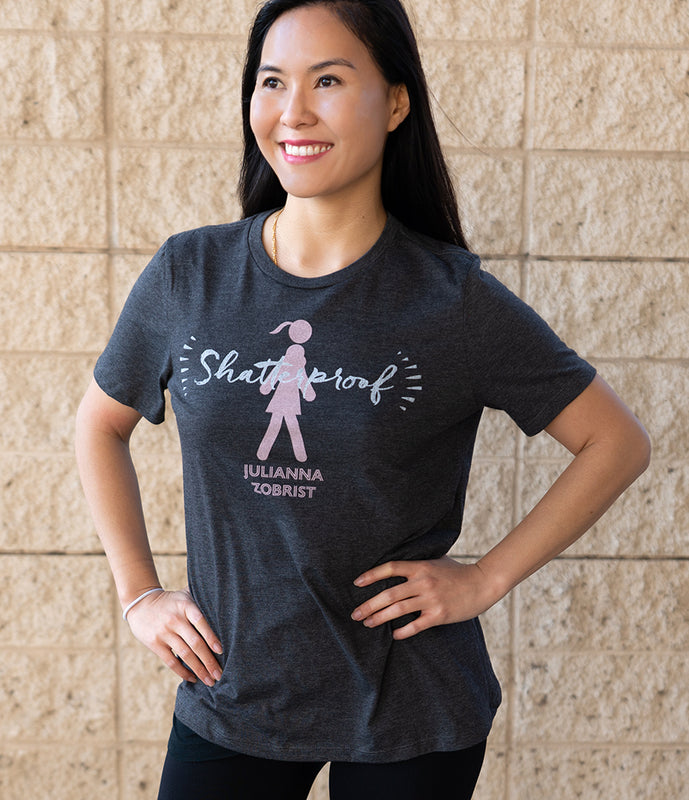Shatterproof Walking Girl Tee