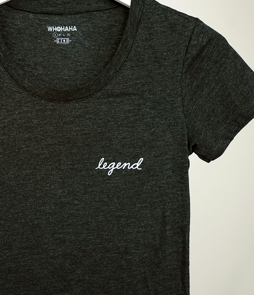 Women's Legend Tee by Whohaha