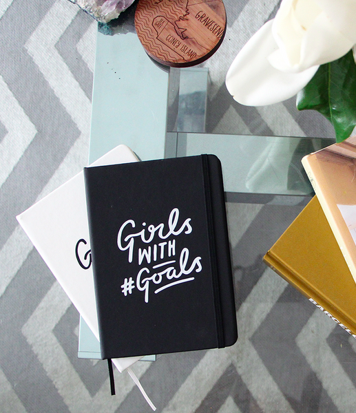 Girls With #Goals Notebook