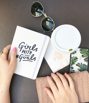 """Girls With #Goals"" Notebook"