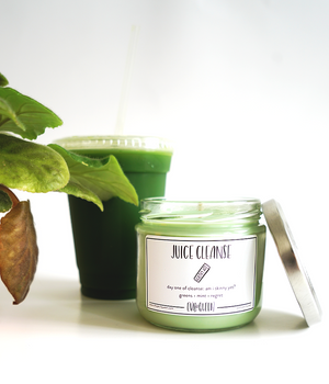 """Juice Cleanse"" Candle"