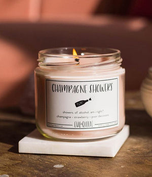 """Champagne Showers"" Candle"