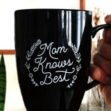 """Mom Knows Best, JK I'm Winging It"" Mug"