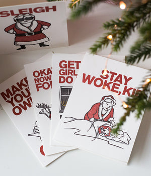 Mrs. Claus Holiday Card Collection