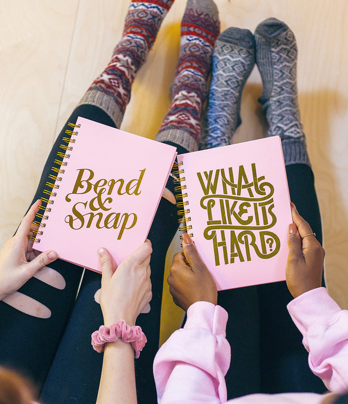 """Bend & Snap"" Spiral Notebook"