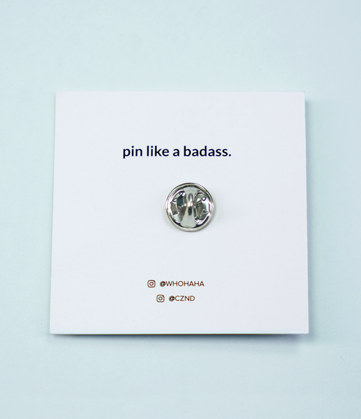 Make Your Own Damn Sandwich Pin by Whohaha