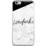 """Zero Fucks"" Phone Case"