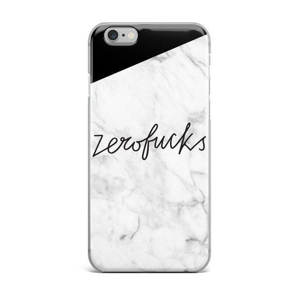 Zero Fucks Phone Case by Bethenny