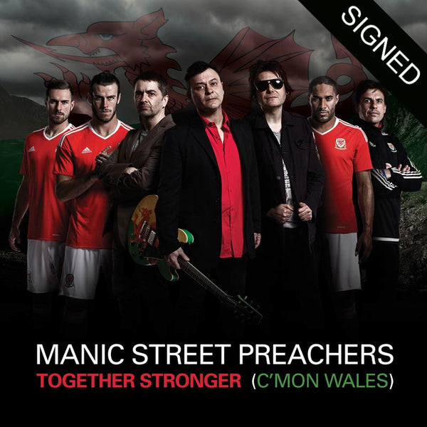 TOGETHER STRONGER (C'MON WALES) – SIGNED CD