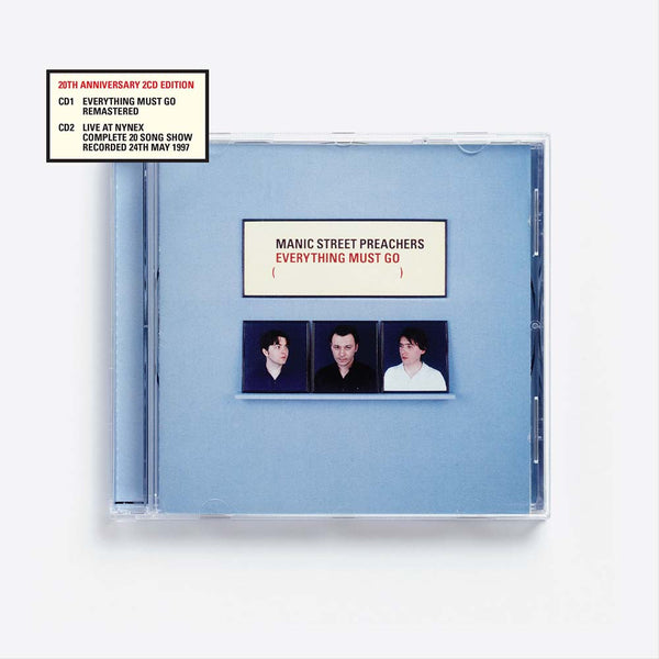 EVERYTHING MUST GO 20 (REMASTERED) – 2CD